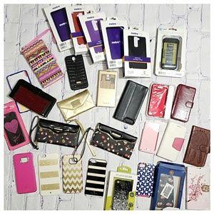Huge Designer Cell Phone Case Bundle